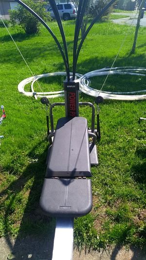 Used, Bowflex machine$50. The grill$20. Skill saw $35. for Sale for sale  Aumsville, OR