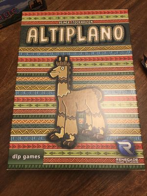 Altiplano Board Game for Sale in Arlington, TX