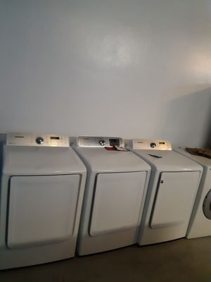 ELECTRIC DRYERS IN EXCELLENT CONDITION WORKING PERFECTLY for Sale in Baltimore, MD