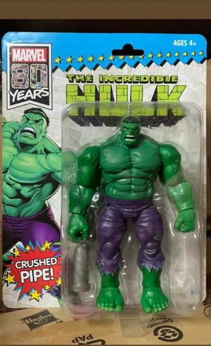 Exclusive SDCC Marvel Legends Hulk Collectible Action Figure Toy for Sale in Chicago, IL