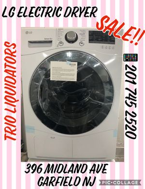 LG Electric Dryer SALE !! for Sale in Garfield, NJ