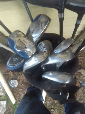 Titan knight golf clubs two extra drivers for Sale in Cuba, MO
