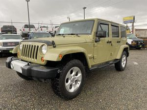 2013 Jeep Wrangler Unlimited for Sale in Tacoma, WA