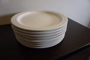 Lot of 8 Le creuset 11.25 inch 29cm dinner plates set for Sale in Alexandria, VA