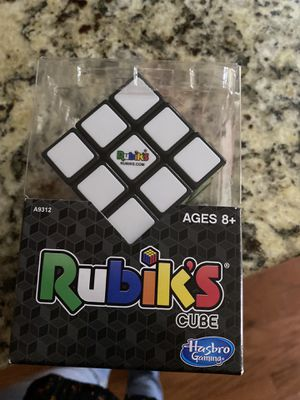 Rubik's Cube Game 3x3 - Brain Teaser Puzzle - Ages 8+ - New for Sale in Grand Prairie, TX