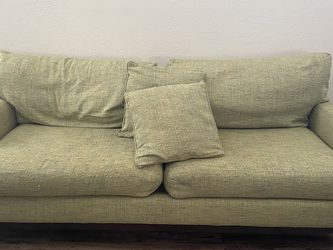 MCM Green Tweed Couch for Sale in Austin,  TX