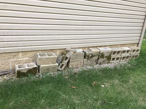 Free cinder blocks for Sale in Canton, OH