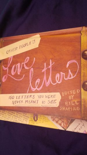 Other People's Love Letters/ Bill Shapiro for Sale in Hopkinsville, KY