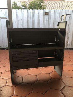Kargo Master adjustable shelf unit/cabinet/ shelf lip for Sale in Miami, FL