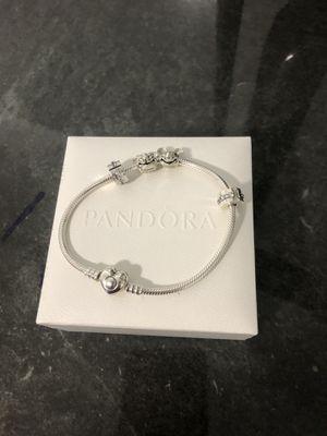 Pandora brazalete authentic 4 charm for Sale in Opa-locka, FL