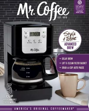 Mr. Coffee Advanced Brew Coffee Maker - Black JWX3 for Sale in Marietta, GA