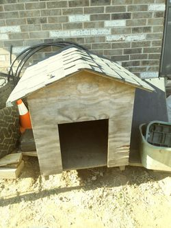 Wood dog house for Sale in Yukon,  OK