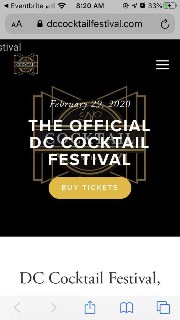 DC Cocktail Festival