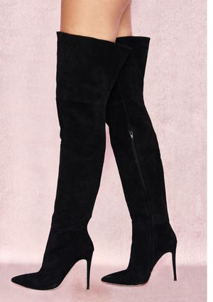 Black thigh high boots brand new for Sale in Los Angeles, CA