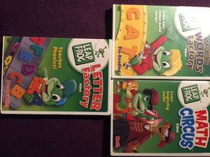 Leap frog dvds spelling, math , reading for Sale in Laguna Hills, CA