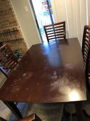 Dining table with 4 chairs for Sale in Wylie, TX