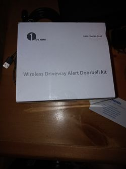 Wireless driveway alert doorbell kit for Sale in Las Vegas,  NV