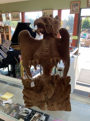 Carved wooden statue for Sale in Rehoboth, MA