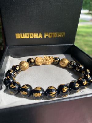 Buddha Bracelet Male/Female W/ Lucky Charm ( Comes 2 In 1 ) for Sale in Jonesboro, GA