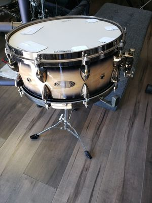 Brand new snare drum with new stand for Sale in Perris, CA