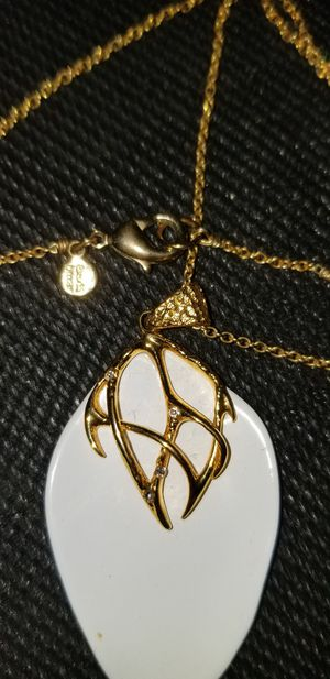 Alexis Bittar Designer Gold, w diamond pts. for Sale in White Plains, NY