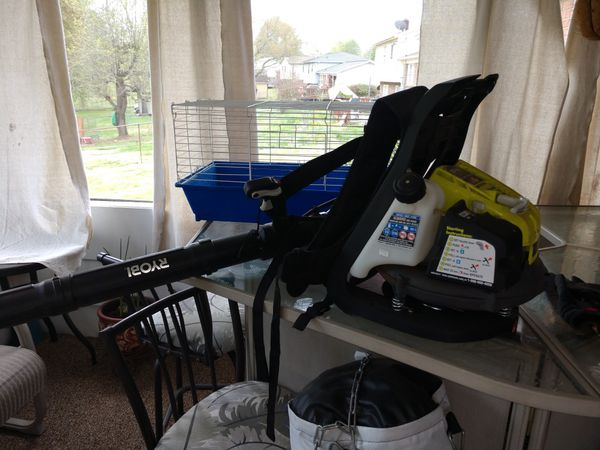 Ryobi bp42 back pack leaf blower