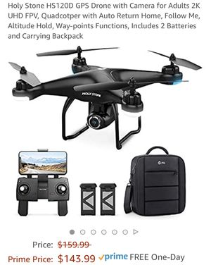 HOLYSTONE HS-SERIES DRONE HS120D for Sale in Siloam, NC