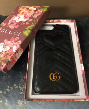 Gucci leather iPhone case for Sale in Renton, WA