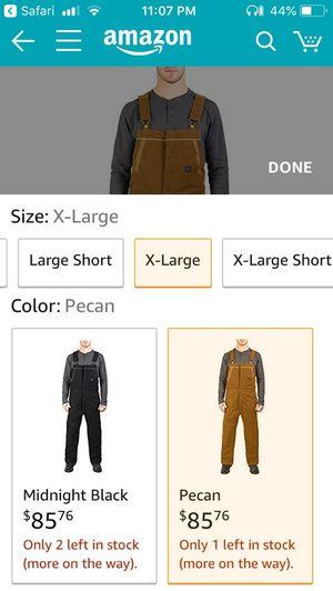 Walls XL overalls, J.Ferrar & Geoffrey Beene suit jackets for Sale in Kingsport, TN
