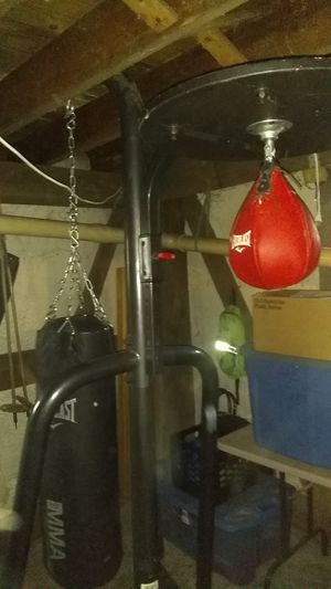 Speed bag and punching bag for Sale in Granby, CT