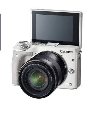 Canon EOS M3 for sale!! for Sale in Modesto, CA