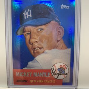 Mickey Mantle 2008 Topps Refractor (Card# MMR-53) New York Yankees for Sale in Palm Harbor, FL