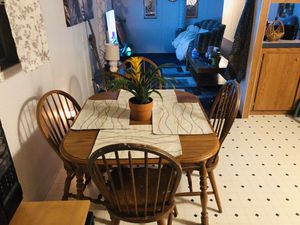Kitchen Table with four chairs for Sale in Evansville, IN
