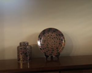 Ginger Jar and Matching Accent Plate for Sale in Avondale, AZ