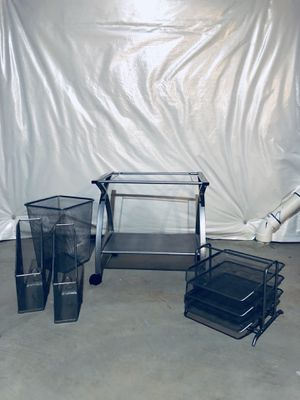 Silver Mesh Office Accessories for Sale in Ashburn, VA