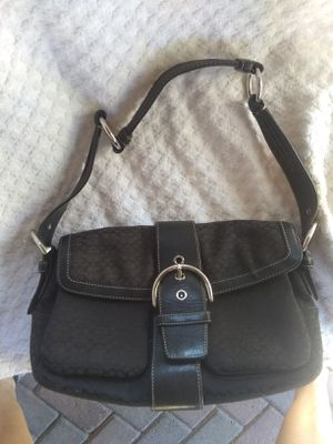 Authentic Black Coach women's bag purse retails $229 will sell $60 for Sale in Avondale, AZ