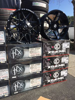 OFF ROAD WHEEL AND TIRE PACKAGE DEALS!! Only $39.00'out the door with financing pay the rest later! for Sale in Lafayette, CA