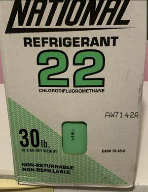Hvac Freon R22 ,30lb for Sale in Port Tobacco, MD