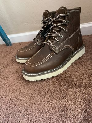Soft toe work boots for Sale in Colton, CA