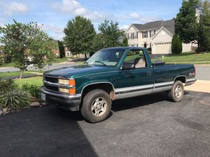 97 Chevy Silverado 4x4 for Sale in Annandale, VA