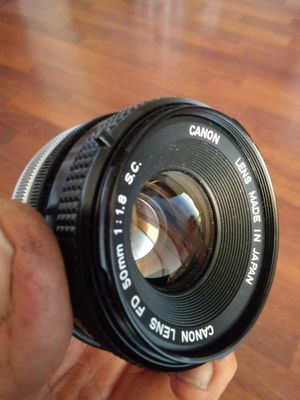 Canon FD 50mm f1.8 S.C. SUPER-CLEAN for Sale in Chino, CA