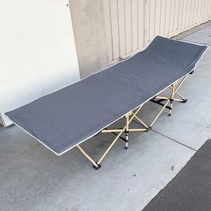 """$50 (brand new) portable folding camping cot bed 75x27"""" for Sale in Whittier, CA"""