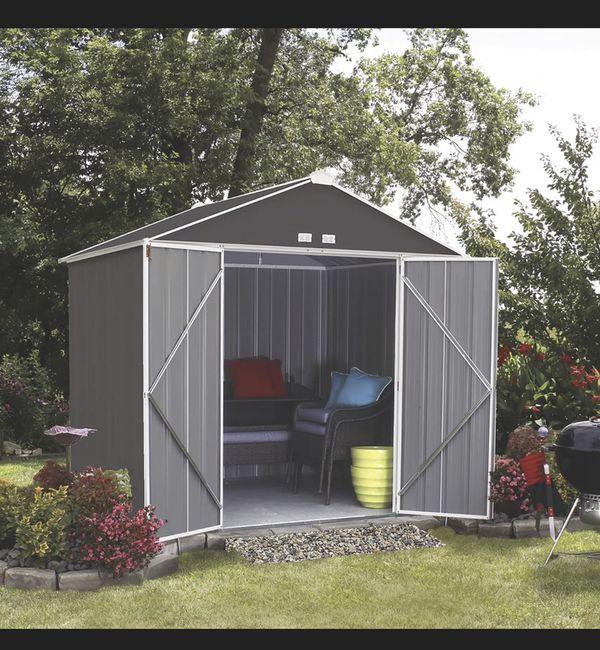 8'x7' storage shed