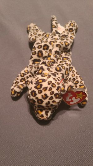 Rare Ty beanie babies June 3 1996 Freckles the leopard original tag for Sale in Manassas, VA