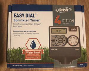 Orbit 4 Station Easy Dial Sprinkler Timer Water Smart for Sale in Los Angeles, CA