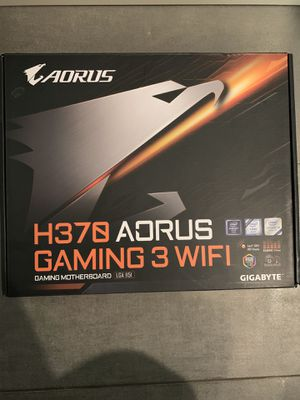 H370 Aorus Gaming 3 WiFi Motherboard for Sale in Federal Way, WA