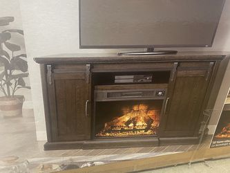 Electric Fire Place / Tv Stand for Sale in Tacoma,  WA