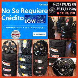 New and used tires and wheels ‼️finance available ‼️ for Sale in Tyler, TX