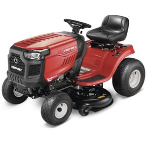 Troy-Bilt Bronco 42 in. 19 HP Briggs & Stratton Automatic Drive Gas Riding Lawn Tractor with Mow in Reverse for Sale in Fontana, CA
