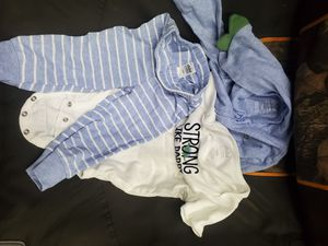 12 months strong like daddy dinosaur outfit for Sale in Waterford, PA